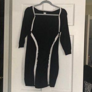 Black & White Venus Dress - size large